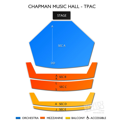 Chapman Music Hall - TPAC