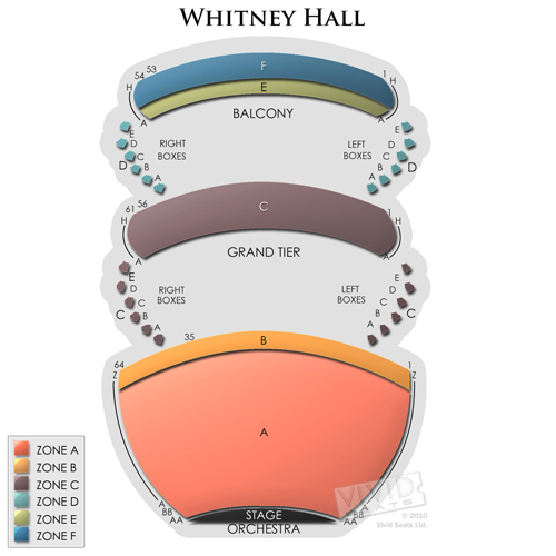 Kentucky Center - Whitney Hall