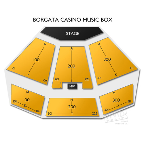 Borgata Casino Music Box