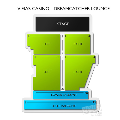 Viejas Casino - Dreamcatcher Lounge