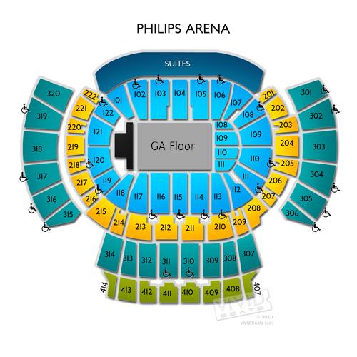 Tickets At Philips Arena Atlanta At