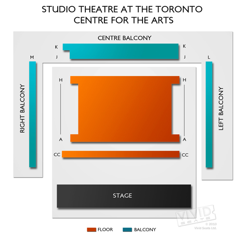 Toronto Centre for the Arts - Studio Theatre