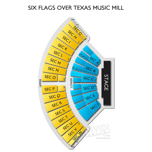 Music Mill at Six Flags Over Texas