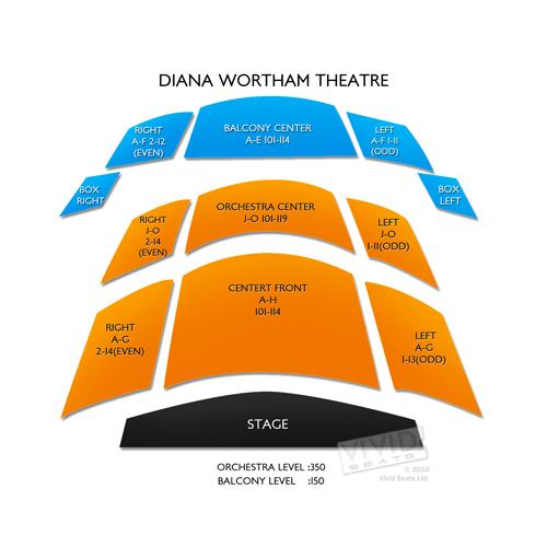 Diana Wortham Theatre - NC