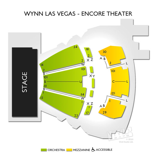 Encore Theatre At Wynn Las Vegas