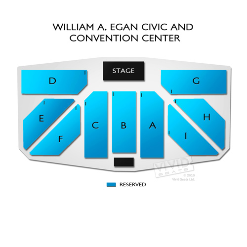 William A. Egan Civic and Convention Center