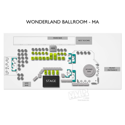 Wonderland Ballroom - MA