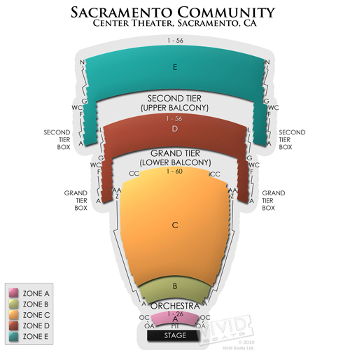 Sacramento Community Center Theater