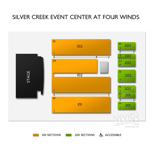 Silver Creek Event Center at Four Winds