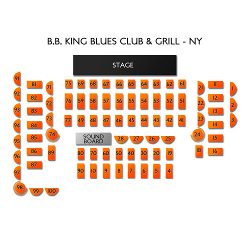 BB King Blues Club and Grill NY