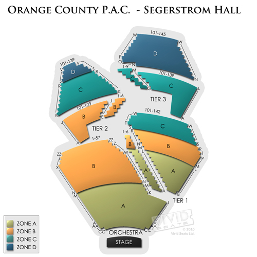 Orange County P.A.C. - Segerstrom Hall