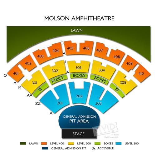 Molson Amphitheatre