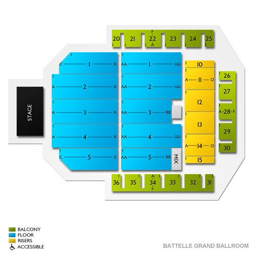 Battelle Grand Ballroom - Greater Columbus Convention Center