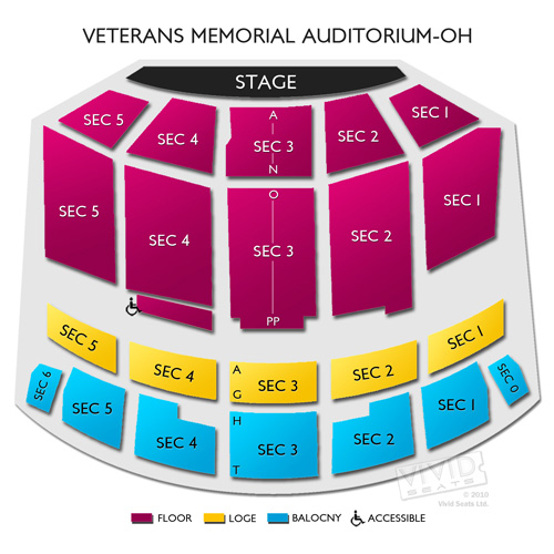 Veterans Memorial Auditorium-OH