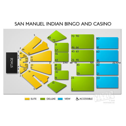 San manuel indian bingo casino events slots and poker