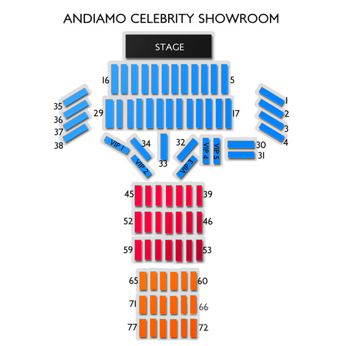 Andiamo Celebrity Showroom