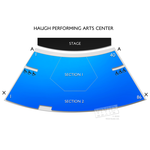 Haugh Performing Arts Center