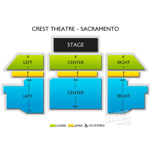 Crest Theatre - Sacramento