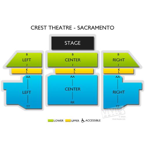 Crest Theatre - Sacramento