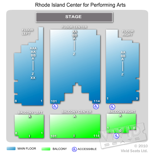 Rhode Island Center for Performing Arts