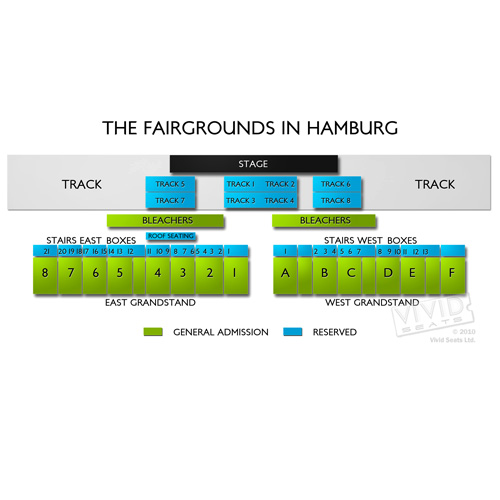 The Fairgrounds in Hamburg