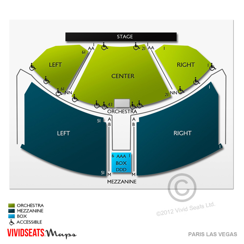 Chrysler Hall Seating Chart Detailed