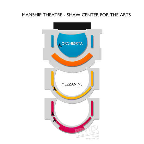 Manship Theatre: Shaw Center for the Arts
