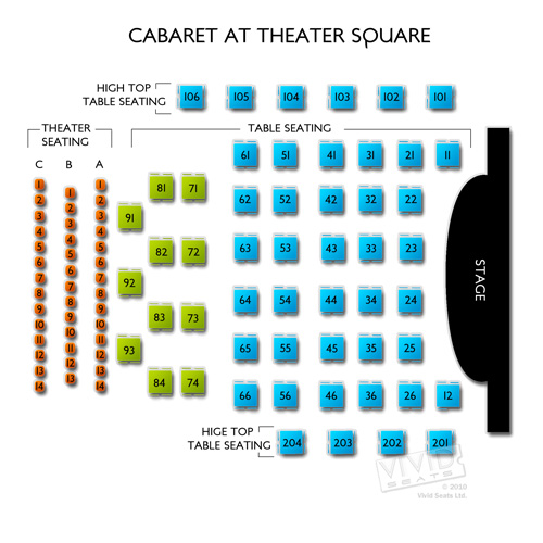 Cabaret at Theater Square