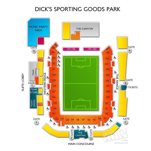 Dicks Sporting Goods Park