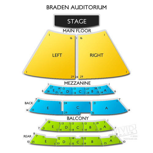 Braden Auditorium