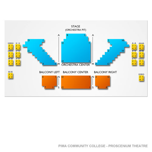 Pima Community College - Proscenium Theatre