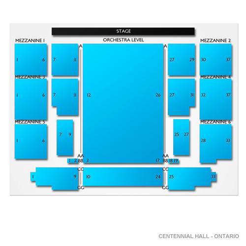 Centennial Hall - Ontario