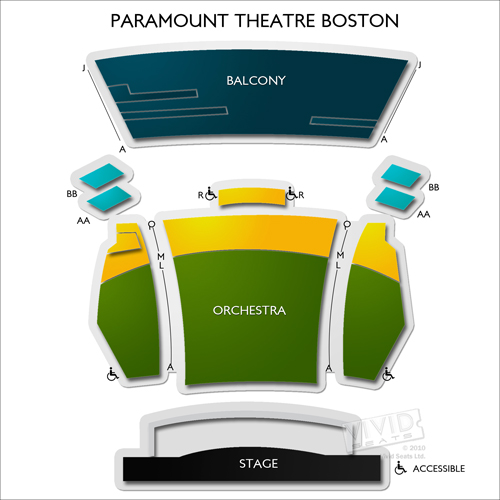 Paramount Theatre - Boston
