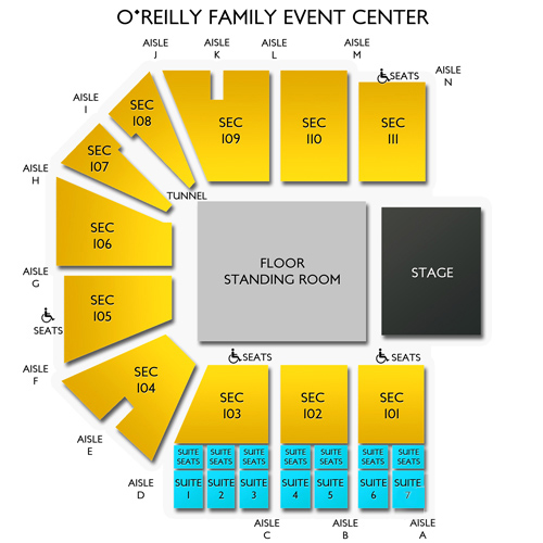 OReilly Family Event Center