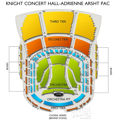 Knight Concert Hall-Adrienne Arsht PAC
