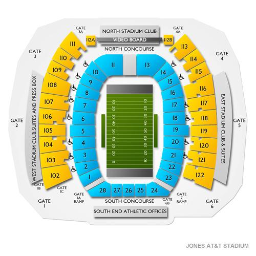 Jones AT&T Stadium