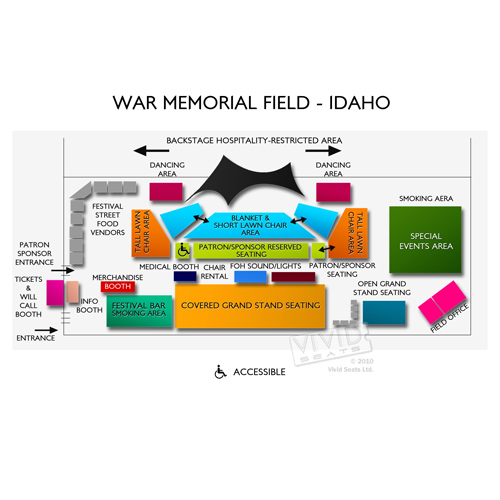 War Memorial Field - Idaho