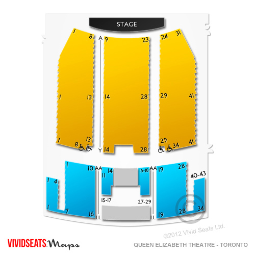 Queen Elizabeth Theatre - Toronto