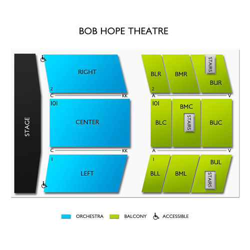 Bob Hope Theatre - CA