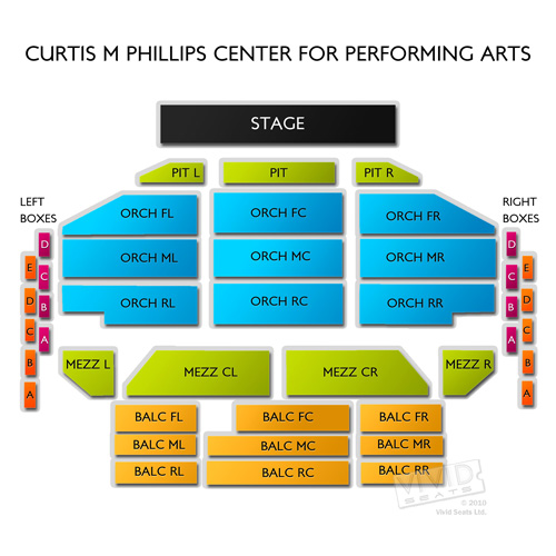 Curtis M Phillips Center for Performing Arts