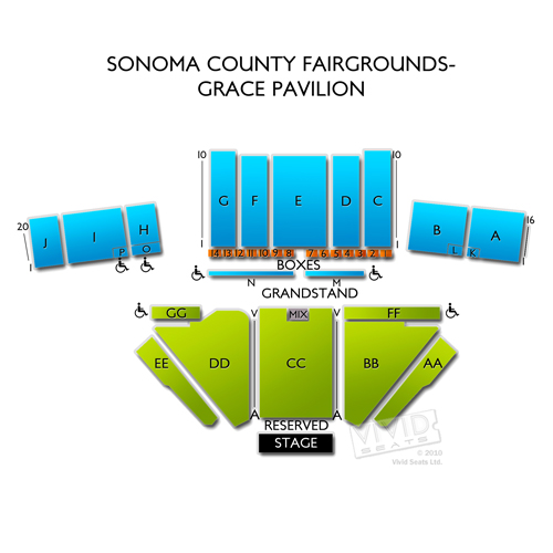 Sonoma County Fairgrounds-Grace Pavilion