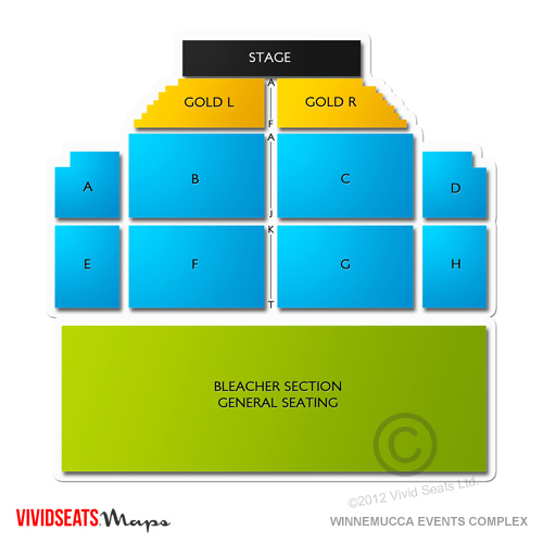Knitting Factory Boise Seating : Winnemucca events complex seating chart vivid seats
