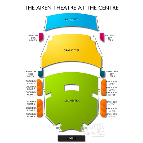 The Aiken Theatre at The Centre