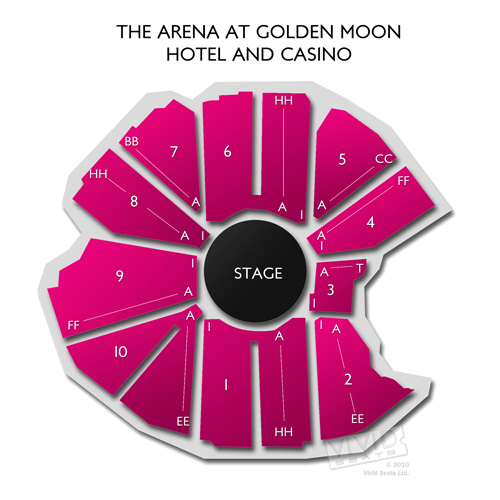 The Arena at Golden Moon Hotel and Casino