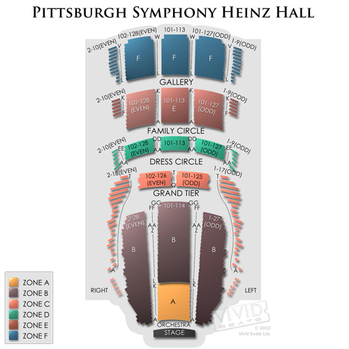 Pittsburgh Symphony Heinz Hall