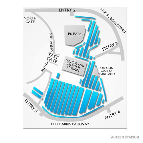 Autzen Stadium Parking - Autzen Stadium Parking Map ...