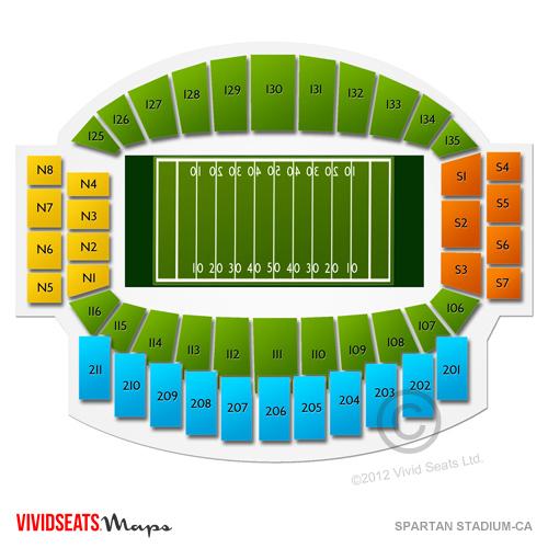 Spartan Stadium-CA