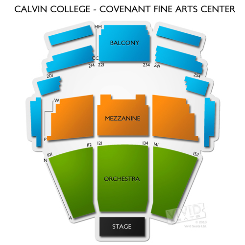Calvin College - Covenant Fine Arts Center
