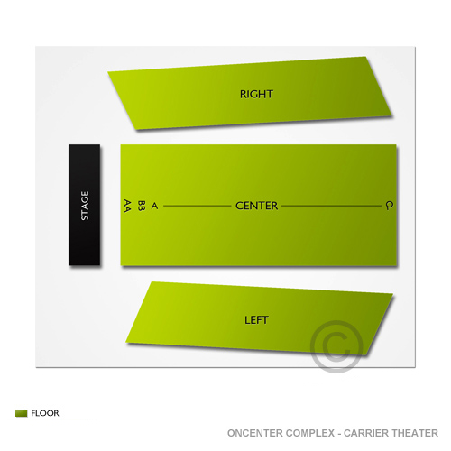 Oncenter Complex - Carrier Theater