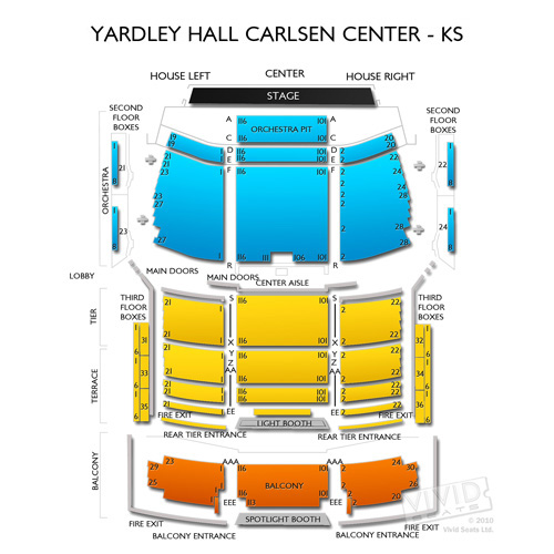 Yardley Hall Carlsen Center - KS